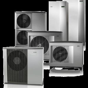 Теплові насоси повітря/вода NIBE